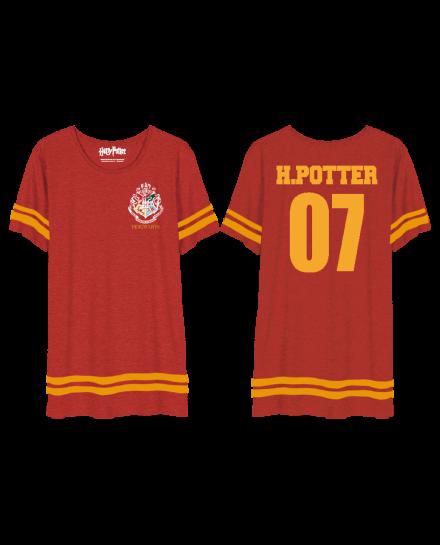 Tee-Shirt oversize Harry Potter femme Gryffondor 07