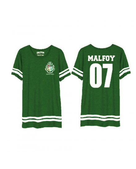 Tee-Shirt oversize Malfoyr femme Serpentard 07