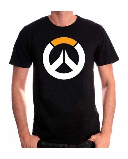 Tee-Shirt Overwatch noir logo