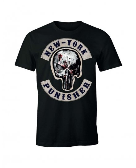 Tee-Shirt Punisher New York Marvel