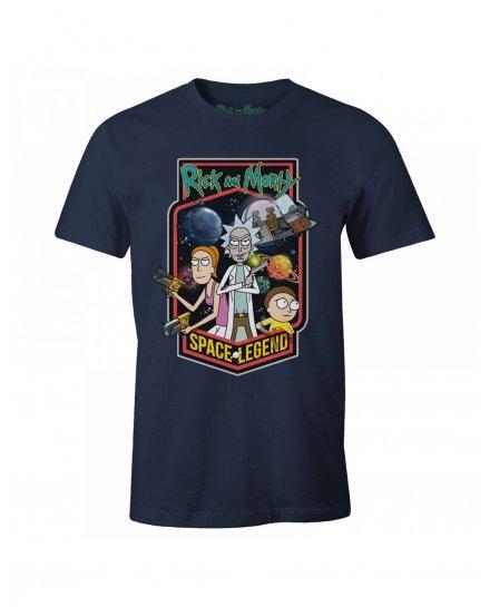 Tee-Shirt Rick et Morty Space Legend