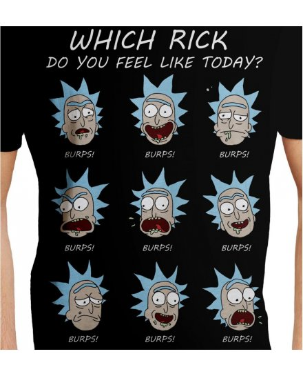 Tee-Shirt Rick et Morty Which Rick
