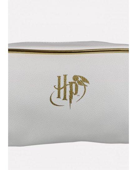 Trousse Harry Potter Vif d'or blanche et dorée