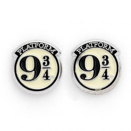Boucles d'oreilles Harry Potter Platform 9 3/4