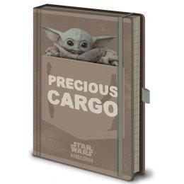 Carnet Bloc Notes Star Wars Precious Cargo Mandalorian