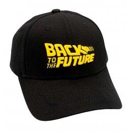 Casquette Retour vers le Futur noir et jaune
