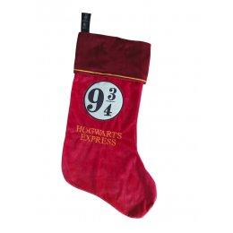 Chaussette de Noël Harry Potter 9 3/4 Hogwarts Express