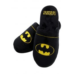 Chaussons Adulte Noirs Logo Batman