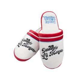 Chaussons Harley Quinn daddy's lil Monster