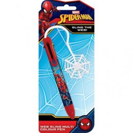 Crayon 6 couleurs Spiderman Toile