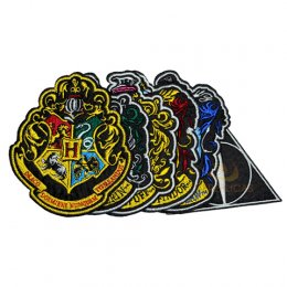 Ecussons Harry Potter Edition Deluxe