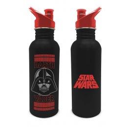 Gourde Star Wars à visser Dark Vador noire et rouge