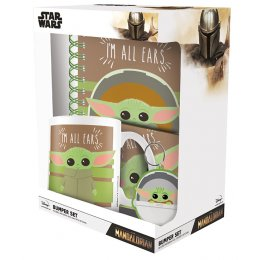 Set Star Wars The Mandalorian I'm All Ears Mug sous verre porte-clés carnet
