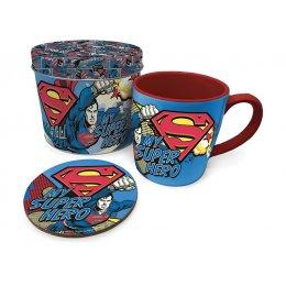 Tasse et dessous de verre MY SUPER HERO