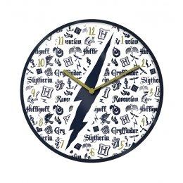 Horloge Harry Potter noire blanche et dorée