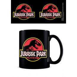 Mug Jurassic Park noir Logo classique