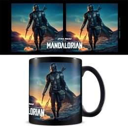 Mug Star Wars The Mandalorian Black