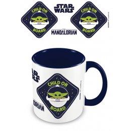 Mug Star Wars Mandalorian Child on Board