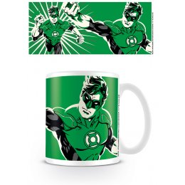Mug Blanc Logo Noir Green Lantern