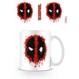 Mug Blanc Splat Deadpool