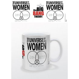 Mug Blanc Universe of All Women The Big Bang Theory