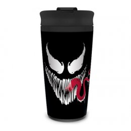 Mug de Voyage Venom noir Marvel métal