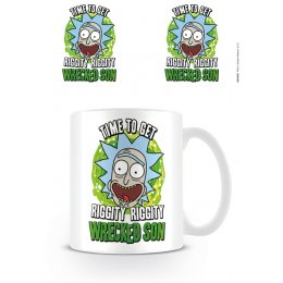 Mug Rick et Morty Time to get Riggity wrecked son