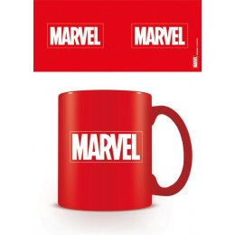 Mug Rouge Logo Marvel