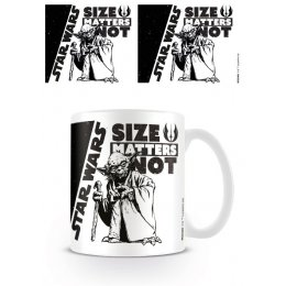 Mug Yoda Size Matters Not Star Wars