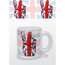 Mug Union Jack Peace Londres