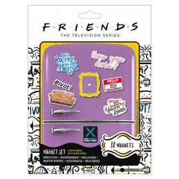 Pack de 12 aimants magnets Friends