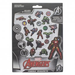 Pack de 18 aimants magnets Avengers Marvel