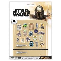 Pack de 18 aimants magnets Star Wars The Mandalorian