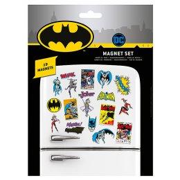 Pack de 19 aimants magnets Batman Retro