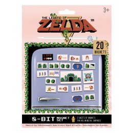 Pack de 20 aimants magnets Zelda Nintendo