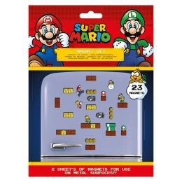 Pack de 23 aimants magnets Super Mario Nintendo