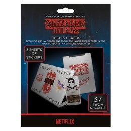 Pack de 37 Tech Stickers Stranger Things