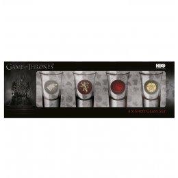 Pack de 4 verres Game of Thrones