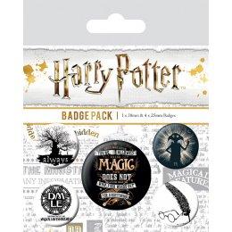 Pack de 5 badges Harry Potter Magic Dobby