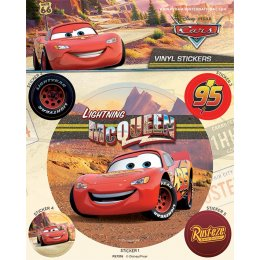 Pack de 5 Stickers Cars Disney