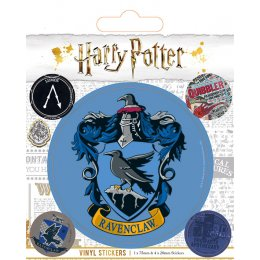Pack de 5 Stickers Harry Potter Serdaigle