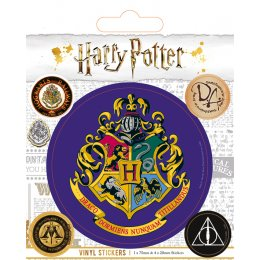 Pack de 5 Stickers Poudlard Harry Potter