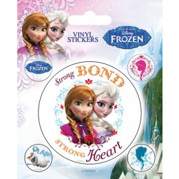 Pack de 5 Stickers Reines des Neiges