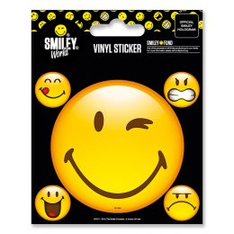 Pack de 5 Stickers Smiley Emoticon