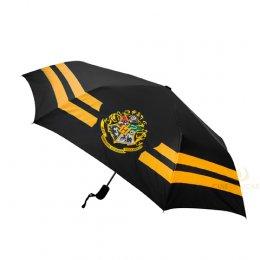 Parapluie Harry Potter Hogwarts noir et jaune