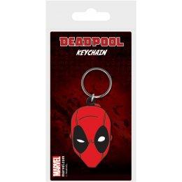 Porte-clés Caoutchouc Face Deadpool