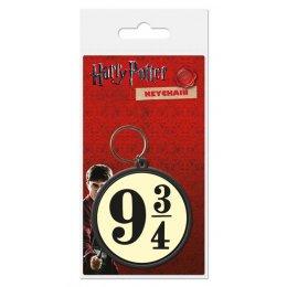 Porte-clés Caoutchouc Station 9 3/4 Harry Potter