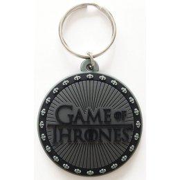 Porte-clés Logo Caoutchouc 6cm Game of Thrones