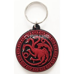 Porte-clés Targaryen Caoutchouc 6cm Game of Thrones