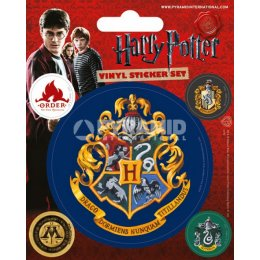 Pack de 5 Stickers Serpentard Harry Potter